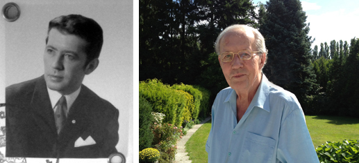 My father – April 1973 , and a year ago in August 2012, (* 1936 , † 2013)