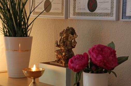 8006bdf087 From the Himalayas to Hamburg. Just in time for the summer, we landed here  in Germany. My workspace and meditation room have already been prepared and  are ...