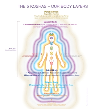 koshas diagram